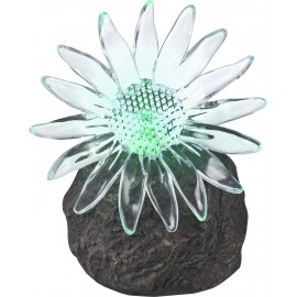 Floare solara, LED RGB, 3V, decorativa